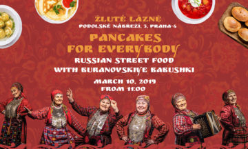 Pancakes for everybody. Buranovskiye Babushki in Prague