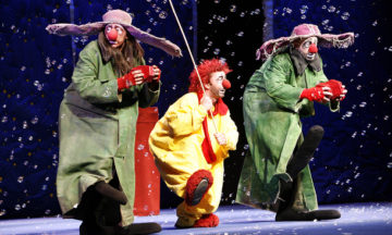 The great Slava's Snowshow in Prague